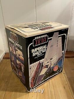 Vintage Kenner Star Wars Return of the Jedi ROTJ 1984 Imperial Shuttle In Box