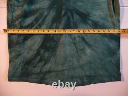 Vintage LIQUID BLUE STAR WARS JAR JAR BINKS Green Tie Dye T SHIRT XL