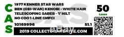 Vintage Star Wars 1977 Obi-Wan (Ben) with Double Telescoping (DT) Saber CAS 50