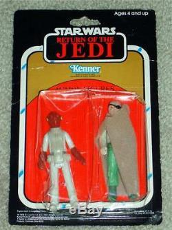 Vintage Star Wars 1983 2-PACK ADMIRAL ACKBAR PRUNE FACE ROTJ KENNER MOC AFA IT