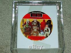 Vintage Star Wars 1983 AFA 85 ROTJ VILLIANS 7-PACK FIGURE MAILER BOX SEALED MISB