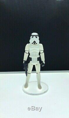Vintage Star Wars 1985 KENNER LUKE STORM TROOPER Outfit POTF last 17
