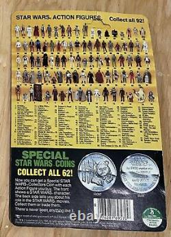 Vintage Star Wars 1985 KENNER R2-D2 POP-UP LIGHTSABER POTF Card Back MOC