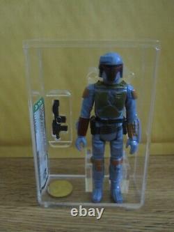 Vintage Star Wars AFA 85+ Boba Fett TW