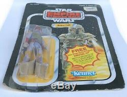 Vintage Star Wars BOBA FETT 41 A BACK MOC MANDALORIAN RARE CARDED ACTION FIGURE
