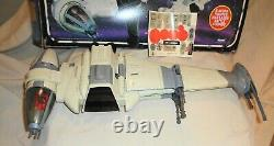 Vintage Star Wars B-Wing Fighter COMPLETE with Pilot 1984 Kenner in Box LOOK