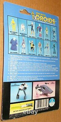 Vintage Star Wars Droids 1985 Jann Tosh Action Figure MOC Factory Sealed Kenner