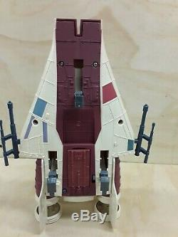 Vintage Star Wars Droids A-wing Fighter Action figure Vehicle 1985 Kenner