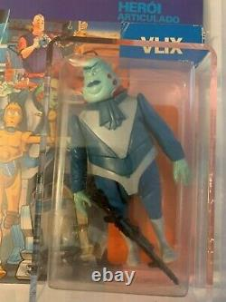 Vintage Star Wars Droids TV Series Glasslite Vlix AFA 60 80/50/80 MOC
