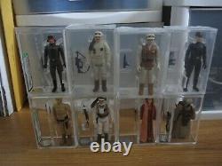Vintage Star Wars ESB AFA 85 LOOSE Collection