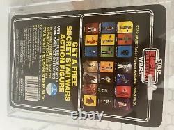 Vintage Star Wars ESB MOC Darth Vader 21 Back-G. CAS 80. Not AFA