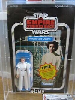 Vintage Star Wars ESB Princess Leia 21 G Back CAS 85