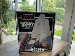 Vintage Star Wars Imperial Shuttle MIB unused Contents