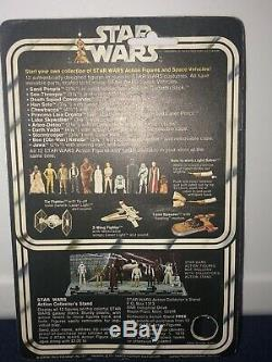 Vintage Star Wars Jawa 12 Back Inner Plastic Tray