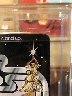 Vintage Star Wars Jawa Vinyl Cape MOC 12-Back A AFA 85+ Unpunched