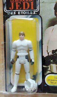 Vintage Star Wars LUKE STORMTROOPER AFA 80 80/80/85 Palitoy Tri Logo Skywalker