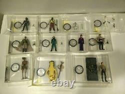 Vintage Star Wars Last 17 POTF Luke stormie, Gunner, EV-9D9, Amanaman, AWing etc