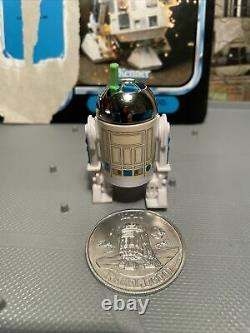 Vintage Star Wars Last 17 R2D2 Pop Up Saber with Coin and Unpunched Card Back POTF