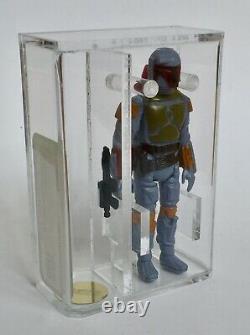 Vintage Star Wars Loose Boba Fett AFA Graded U90 TW Mint Kenner