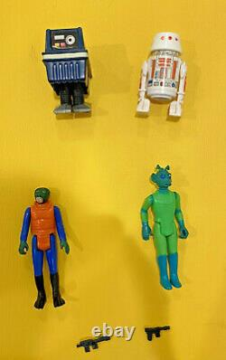 Vintage Star Wars Lot Complete First 21 Set and Case 100% Complete, No Repros