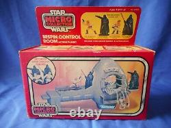 Vintage Star Wars Micro Collection Bespin Control Room 1982 Factory Sealed