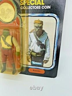 Vintage Star Wars POTF Last 17 Barada MOC 1985 unpunched