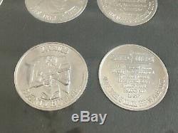 Vintage Star Wars POTF coin, Kenner Executive Frame set