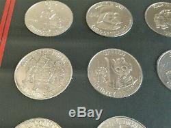 Vintage Star Wars POTF coin, Kenner POTF Frame set