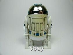 Vintage Star Wars R2D2 Pop Up Saber 1985 Original POTF w coin Last 17