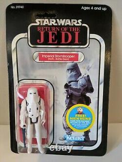 Vintage Star Wars ROTJ Imperial Stormtrooper 1983 Kenner 77-Back Unopened MOC