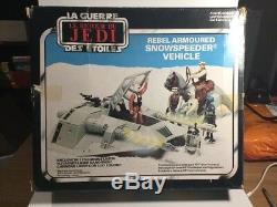 Vintage Star Wars Snowspeeder Within Its Original Box