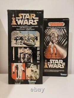 Vintage Star Wars Stormtrooper 12 Kenner Mint In Original Box