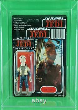 Vintage Star Wars Yak Face Tri-logo (return Of The Jedi) Unpunched Ultra Rare