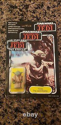 Vintage Star Wars Yoda Tri-logo Palitoy 1983