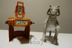 Vintage Star Wars lot Kenner vehicles action figures weapons manuals decals ++++